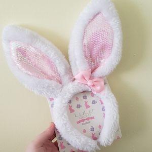 Girls Easter Bunny Ears Headband